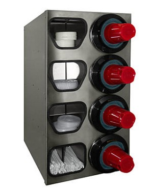 Tomlinson 1020384 SS Combination Cabinet Dispensers