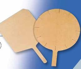 "Tomlinson 1022399 Richlite Pizza Board, 17"" Round"
