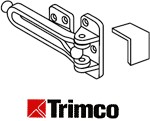 Trimco 4016 Swing Arm Door Guard, Polished Brass