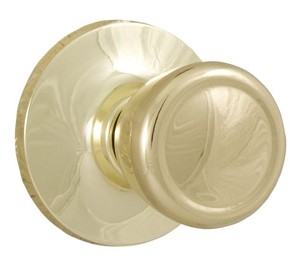Weslock 200 Tulip Passage, Bright Brass